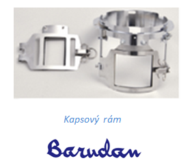 Kapsový rám BARUDAN - original quality (Japonsko) - cena na dotaz