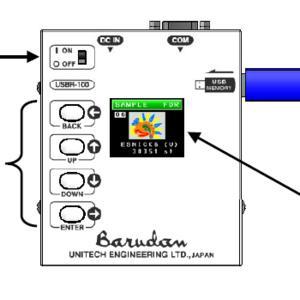 USB čtečka BARUDAN USBR-100 /sada - cena na vyžádání - 1