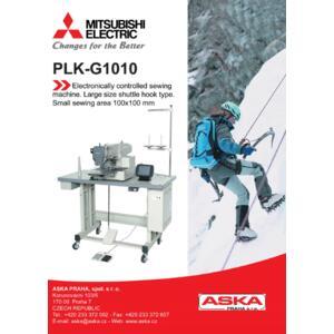 MITSUBISHI PLK-G1010 - průmyslový šicí automat - 2