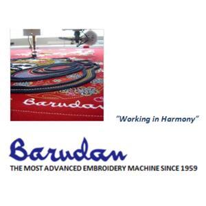 Kompaktní vyšívací stroj BARUDAN - cenová nabídka na vyžádání - 2