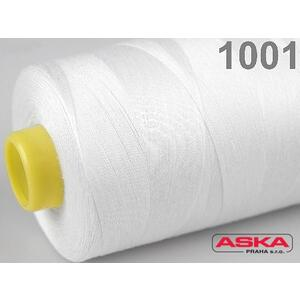 Nitě 100 % PES 40/2-5000Yds bílá 001 - 2