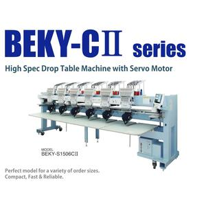BARUDAN BEKY-S1506CII šestihlavý vyšívací automat - 2