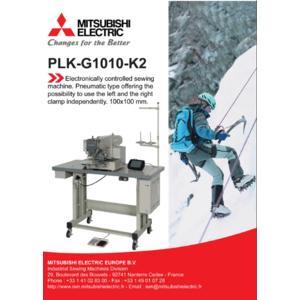 MITSUBISHI PLK-G1010-K2 - průmyslový šicí automat - 2