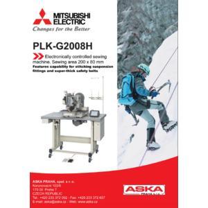 MITSUBISHI PLK-G2008H - průmyslový šicí automat - 2