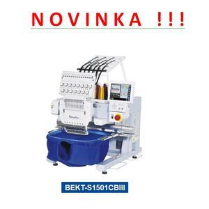 BARUDAN BEKT-S1501CBIII - NOVÝ VYŠÍVACÍ AUTOMAT - více prostoru, vhodný pro těžké materiály - 3