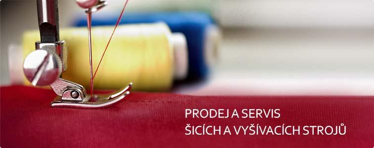 Prodej a servis šicích a vyšívacích strojů